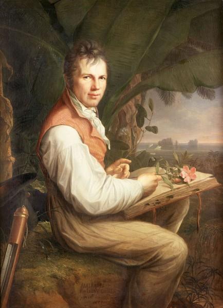 Humboldt • Maler: Friedrich Georg Weitsch [Public domain], via Wikimedia Commons